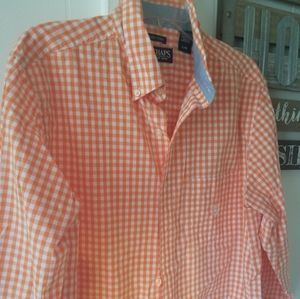 Mens Large Chap long sleeve shirt easy care